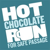 hot chocolate run logo