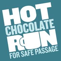 hot chocolate run logo